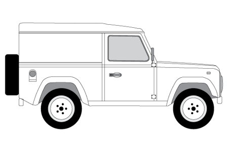 Picture for category Defender 90 1983-Onwards