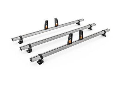 Picture of Hubb VECTA BAR 3 Bar System + 4 load stops | Fiat Doblo 2010-Onwards | L1, L2 | H1 | HS07-34