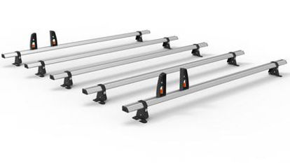 Picture of Hubb VECTA BAR 5 Bar System + 4 load stops | Fiat Ducato 2006-Onwards | L4 | All Heights | HS06-57