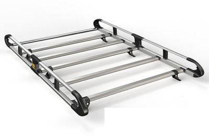 Picture of Van Guard 5 bar ULTI Rack | Fiat Fiorino 2008-Onwards | Twin Rear Doors | L1 | H1 | VGUR-041