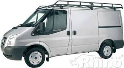 Picture of Rhino Modular Rack 2.7m long x 1.8m wide | Ford Transit 2000-2014 | Twin Rear Doors | L2 | H3 | R532
