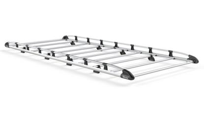 Picture of Rhino Aluminium Rack 2.8m long x 1.6m wide | Ford Transit 2014-Onwards | Twin Rear Doors | L2 | H3 | AH649