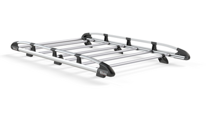 Picture of Rhino Aluminium Rack 2.2m long x 1.25m wide | Ford Transit Connect 2002-2013 | Twin Rear Doors | L2 | H2 | AH564