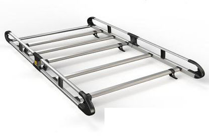 Picture of Van Guard 5 bar ULTI Rack | Ford Transit Connect 2002-2013 | Twin Rear Doors | L2 | H2 | VGUR-026