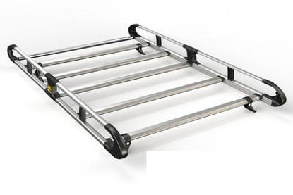 Picture of Van Guard 5 bar ULTI Rack | Ford Transit Courier 2014-Onwards | Twin Rear Doors | L1 | H1 | VGUR-061