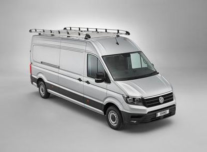 Picture of Rhino Aluminium Rack 3.2m long x 1.6m wide   Iveco Daily 2014-Onwards   Twin Rear Doors   L1   H1   AH565