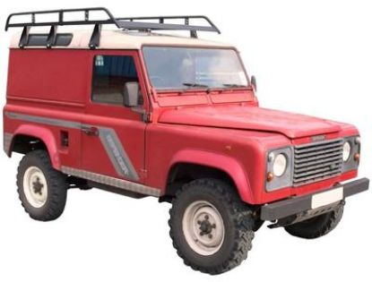 Picture of Rhino Modular Rack 2.5m long x 1.4m wide   Land Rover Defender 110 1983-Onwards   All Heights   R601