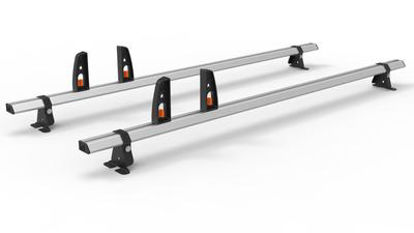 Picture of Hubb VECTA BAR 2 Bar System + 4 load stops | Mercedes Citan 2012-Onwards | L3 | H1 | HS40-23