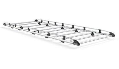 Picture of Rhino Aluminium Rack 3.2m long x 1.6m wide | Mercedes Sprinter 2006-2018 | Twin Rear Doors | L2 | H2 | AH520