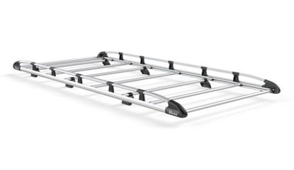 Picture of Rhino Aluminium Rack 3.2m long x 1.6m wide | Nissan NV400 2010-Onwards | Twin Rear Doors | L2 | H2 | AH605