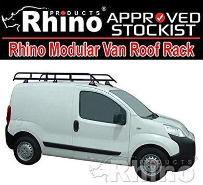 Picture of Rhino Modular Rack 1.9m long x 1.25m wide   Peugeot Bipper 2008-Onwards   Twin Rear Doors   L1   H1   R588