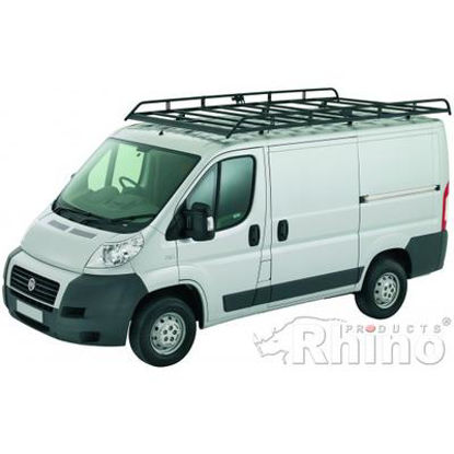 Picture of Rhino Modular Rack 3.7m long x 1.8m wide | Peugeot Boxer 2006-Onwards | L3 | H2 | R548