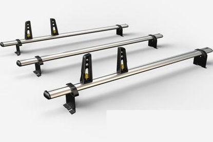Picture of Van Guard 3x ULTI Bars | Peugeot Expert 1995-2004 | Twin Rear Doors | L1 | H1 | VG86