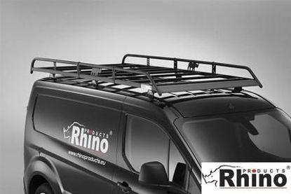 Picture of Rhino Modular Rack 3.2m long x 1.4m wide | Peugeot Expert 2016-Onwards | Twin Rear Doors | L3 | H1 | R663