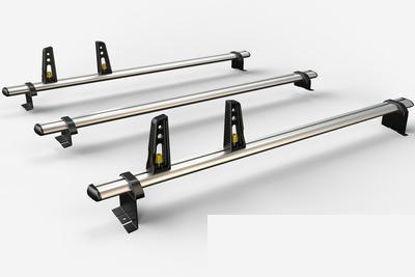 Picture of Van Guard 3x ULTI Bars   Peugeot Partner 2008-2018   Twin Rear Doors   L1, L2   H1   VG271-3