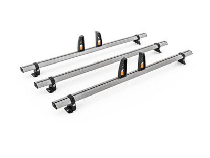 Picture of Hubb VECTA BAR 3 Bar System + 4 load stops | Peugeot Partner 2018-Onwards | L2 | H1 | HS48-34