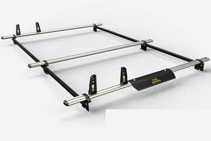 Picture of Van Guard 3 bar ULTI System incl. wind deflector | Renault Trafic 2001-2014 | L1 | H1 | VG182-SWB-3