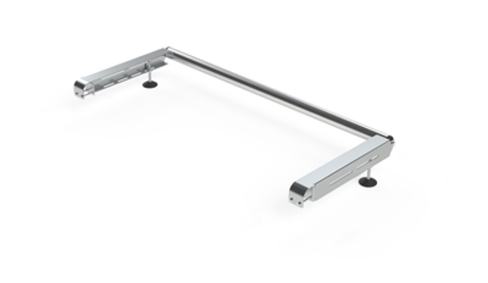 Picture of Rhino Delta Bar Rear Roller System | Renault Trafic 2014-Onwards | Twin Rear Doors | L1, L2 | H1 | 1145-S450P