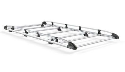 Picture of Rhino Aluminium Rack 3.0m long x 1.6m wide | SAIC V80 Maxus 2016-Onwards | Twin Rear Doors | L1 | H1 | AH655