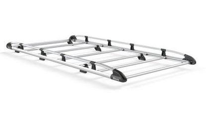 Picture of Rhino Aluminium Rack 3.2m long x 1.6m wide | SAIC V80 Maxus 2016-Onwards | Twin Rear Doors | L2 | H2 | AH656