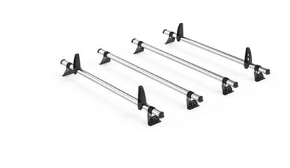 Picture of Rhino 4 Bar Delta Bar Kit | SAIC V80 Maxus 2016-Onwards | Twin Rear Doors | L2 | H3 | XB4D-B44