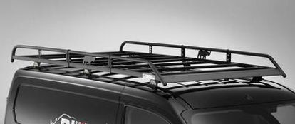 Picture of Rhino Modular Rack 2.5m Long x 1.25m Wide | Vauxhall Combo 2018-Onwards | Twin Rear Doors | L2 | H1 | R673