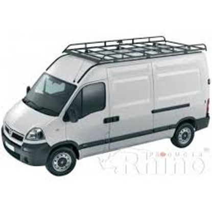 Picture of Rhino Modular Rack 3.9m long x 1.6m wide | Vauxhall Movano 2010-Onwards | L3 | H2 | R606