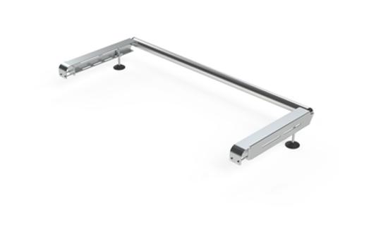 Picture of Rhino Delta Bar Rear Roller System | Vauxhall Vivaro 2001-2014 | Twin Rear Doors | L1, L2 | H1 | 1145-S450P