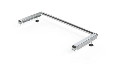 Picture of Rhino Delta Bar Rear Roller System | Vauxhall Vivaro 2014-2019 | Twin Rear Doors | L1, L2 | H1 | 1145-S450P