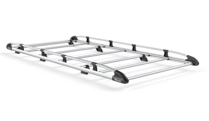 Picture of Rhino Aluminium Rack 2.6m long x 1.4m wide | Vauxhall Vivaro 2014-2019 | Twin Rear Doors | L2 | H2 | AH634