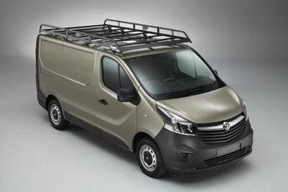 Picture of Rhino Modular Rack 2.8m long x 1.6m wide | Vauxhall Vivaro 2014-2019 | Twin Rear Doors | L1 | H1 | R629