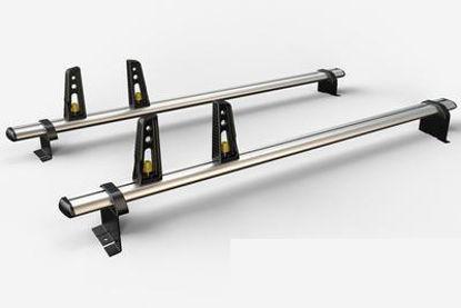 Picture of Van Guard 2x ULTI Bars | Vauxhall Vivaro 2019-Onwards | Twin Rear Doors | L1, L2 | H1 | VG333-2