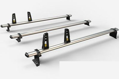 Picture of Van Guard 3x ULTI Bars | Vauxhall Vivaro 2019-Onwards | Twin Rear Doors | L1 | H1 | VG333-3