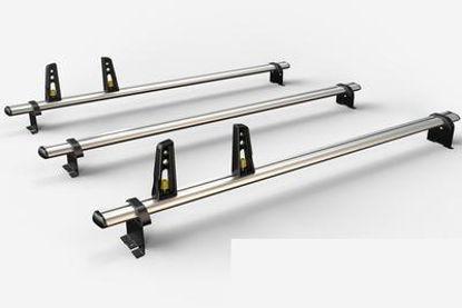 Picture of Van Guard 3x ULTI Bars | Vauxhall Vivaro 2019-Onwards | Twin Rear Doors | L2 | H1 | VG335-3