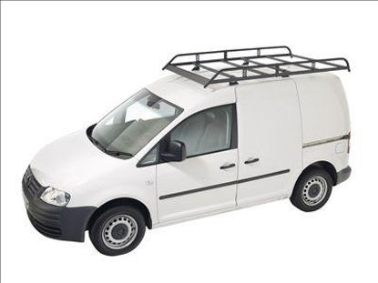 Picture of Rhino Modular Rack 2.4m long x 1.25m wide | Volkswagen Caddy 2004-2010 | Twin Rear Doors | L2 | All Heights | R586