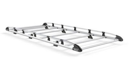 Picture of Rhino Aluminium Rack 2.4m long x 1.25m wide | Volkswagen Caddy 2015-Onwards | Tailgate | L2 | H1 | AH611