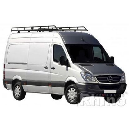 Picture of Rhino Modular Rack 3.4m long x 1.6m wide | Volkswagen Crafter 2006-2017 | L2 | H2 | R520