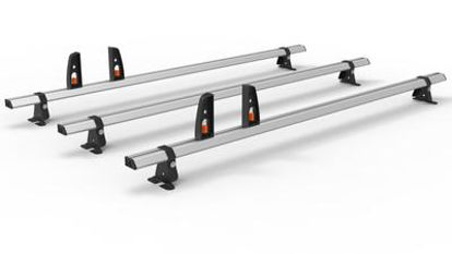 Picture of Hubb VECTA BAR 3 bar System + 4 load stops | Volkswagen Crafter 2017-Onwards | L3 | H2 | HS46-35