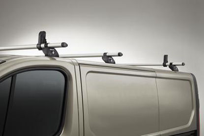 Picture of Rhino 3 Bar KammBar System (T-TRACK SYSTEM) | Volkswagen Crafter 2017-Onwards | Twin Rear Doors | L3, L4, L5 | H2, H3 | MC3TK-K63
