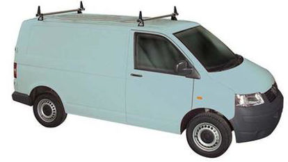 Picture of Rhino 2 Bar Delta System  *(T-Track fitting) | Volkswagen T5 Transporter 2002-2015 | H1 | T52TD-B42
