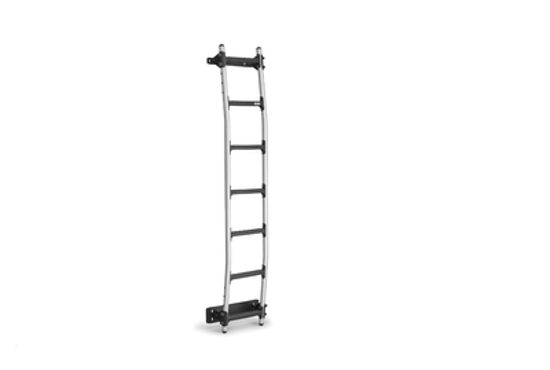 Picture of Rhino New Aluminium Rear Door Ladder (Universal fitting kit)   Vauxhall Vivaro 2001-2014   Twin Rear Doors   All Lengths   H2   AL7-LK21
