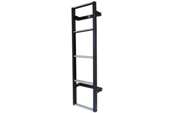 Picture of Van Guard 5 step Rear Door Ladder - 1230mm (L)   Ford Transit Custom 2013-Onwards   Twin Rear Doors   All Lengths   All Heights   VG116-5-TC