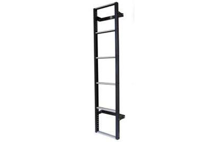 Picture of Van Guard 6 step Rear Door Ladder - 1530mm (L) | Mercedes Sprinter 2018-Onwards | Twin Rear Doors | All Lengths | H1 | VG116-6