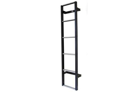 Picture of Van Guard 6 step Rear Door Ladder - 1530mm (L)   Nissan Primastar 2002-2014   Twin Rear Doors   All Lengths   H2   VG116-6