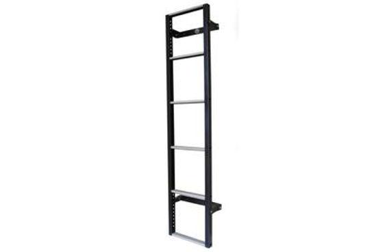 Picture of Van Guard 6 step Rear Door Ladder - 1530mm (L) | Peugeot Boxer 1994-2006 | Twin Rear Doors | L1, L2, L3 | H2 | VG116-6