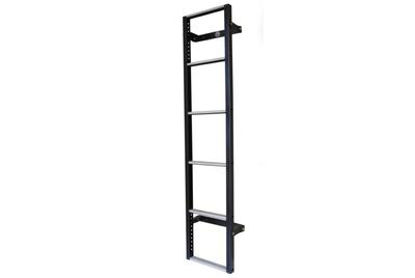 Picture of Van Guard 6 step Rear Door Ladder - 1530mm (L) | Volkswagen LT 1996-2006 | Twin Rear Doors | All Lengths | H1 | VG116-6