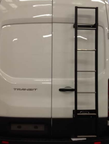 Picture of Van Guard 7 step Rear Door Ladder - 1837mm (L) | Ford Transit 2014-Onwards | Twin Rear Doors | All Lengths | All Heights | VG116-7-T14