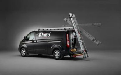 Picture of Rhino 3.1m SafeStow4 (One Ladder) | Mercedes Sprinter 2018-Onwards | Twin Rear Doors | All Lengths | All Heights | RAS18-SK21