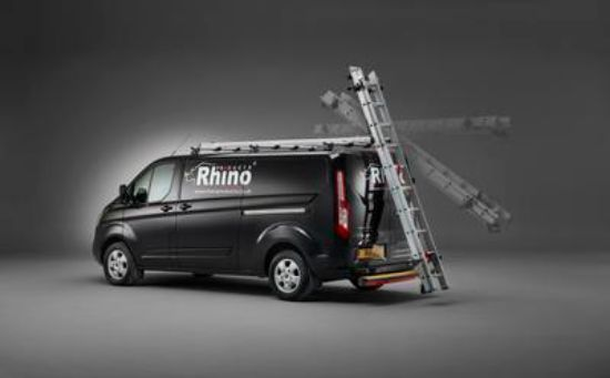 Picture of Rhino 3.1m SafeStow4 (One Ladder) | Vauxhall Combo 2018-Onwards | Twin Rear Doors | L2 | H1 | RAS18-SK21