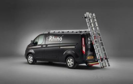 Picture of Rhino 3.1m SafeStow4 (Two Ladders) | MAN TGE 2017-Onwards | Twin Rear Doors | All Lengths | All Heights | RAS18-SK22